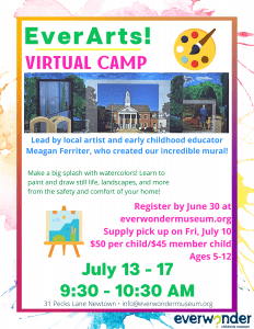EverArts! Virtual Art Summer Camp
