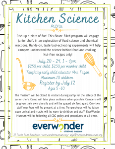 Kitchen Science @ EverWonder Children's Museum