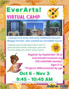 EverArts! Virtual Art Class