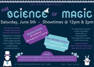 the Science of Magic @ EverWonder Children's Museum