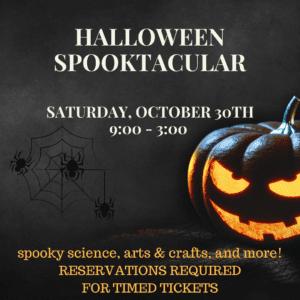 Halloween Spooktacular @ EverWonder Children's Museum